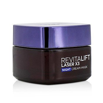 Revitalift Laser x3 New Skin Anti-Aging Night Cream-Mask  50ml/1.7oz
