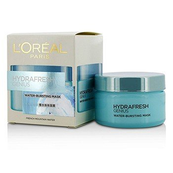 L'Oreal Hydrafresh Genius Water-Bursting Mask  100ml/3.3oz