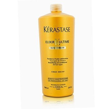 Kerastase Elixir Ultime Oleo-Complexe Beautifying Oil Conditioner (For All Hair Types)  1000ml/33.8oz