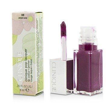 Clinique Pop Lacquer Color de Labios + Primer  - # 08 Peace Pop  6ml/0.2oz