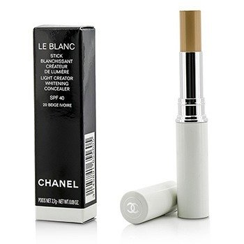 Chanel Le Blanc Light Creator Corrector Blanqueador SPF 40 - #20 Beige Ivorie  2.7g/0.09oz