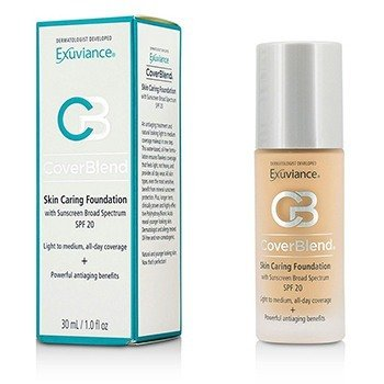 Exuviance  CoverBlend Skin Caring Base SPF20 - # Blush Beige  30ml/1oz