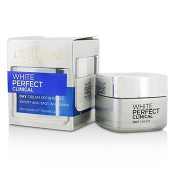 L'Oreal White Perfect Clinical Day Cream SPF19 PA+++ (Box Slightly Damaged)  50ml/1.7oz