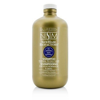 Nisim Champú Sin Sulfatos (Para Cabello Normal a Graso)  1000ml/33oz