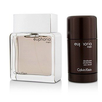 Euphoria Coffret: Eau De Toilette Spray 100ml/3.4oz + Deodorant Stick 75g/2.6oz  2pcs