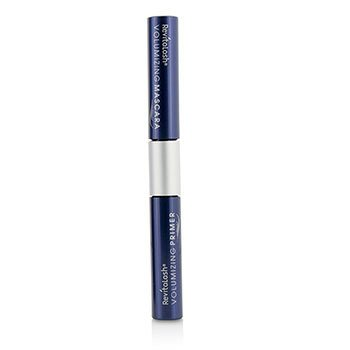 RevitaLash RevitaLash Double Ended Volume Set (1x Mini Primer, 1x Mini Mascara) - Raven  2x3ml/0.101oz