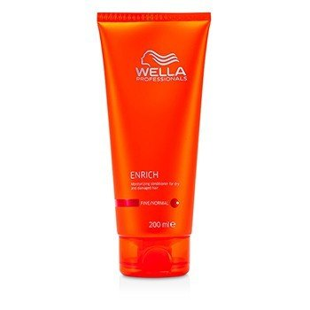 Wella Enrich Moisturizing Conditioner For Dry & Damaged Hair (Halus/Normal)  200ml/6.7oz