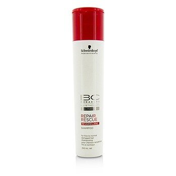Schwarzkopf Szampon do włosów zniszczonych cienkich i normalnych BC Repair Rescue Reversilane Shampoo (For Fine to Normal Damaged Hair)  250ml/8.5oz