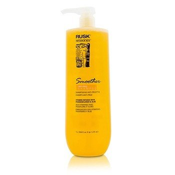 Rusk Sensories Smoother Passionflower & Aloe Anti-Frizz Shampoo  1000ml/33.8oz