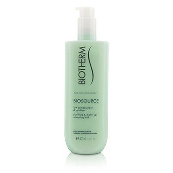 Biotherm Mleczko do demakijażu dla skóry normalnej / mieszanej Biosource Purifying & Make-Up Removing Milk - For Normal/Combination Skin  400ml/13.52oz
