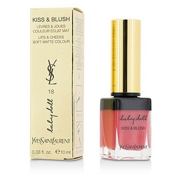 Yves Saint Laurent Baby Doll Kiss & Blush - # 18 Rose Provocant  10ml/0.33oz
