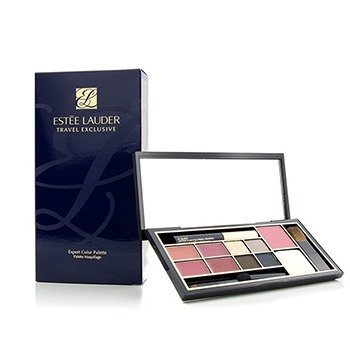 Estee Lauder Exclusivo de Viaje Paleta de Color Experto (4x Pintalabios Pure Color, 4x Sombra de Ojos Pure Color, 1x Rubor Pure Color, 1x Polvo Compacto, 1x Mini Máscara)
