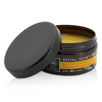 Royal Honey Body Scrub With Sea Salts  200ml/8.68oz