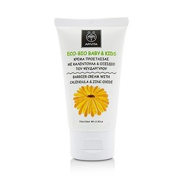 Eco-Bio Baby & Kids Barrier Cream With Calendula & Zinc Oxide  75ml/2.82oz