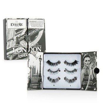 The London Edit False Lashes Multipack Duo Pack  2x3pairs