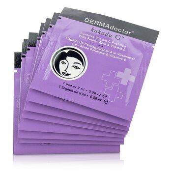 DERMAdoctor Kakadu C Intensive Vitamin C Peel Pads  30pads