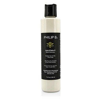 Philip B Anti-Flake II Relief Shampoo - Soothes Dry or Oily, Flaky Scalp (Exp. Date: 10/2016)  220ml/7.4oz