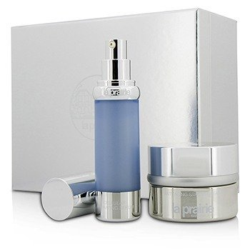 La Prairie Set Cellular Perfection Companions: Crema de Estrés Anti Envejecimiento 50ml/1.7oz + Suero Celular Hidratante 30ml/1oz  2pcs