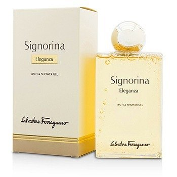 Salvatore Ferragamo Signorina Eleganza Bath & Shower Gel  200ml/6.8oz