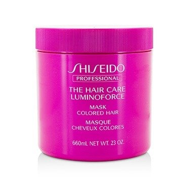 Shiseido Maska do włosów The Hair Care Luminoforce Mask (Colored Hair)  660ml/23oz