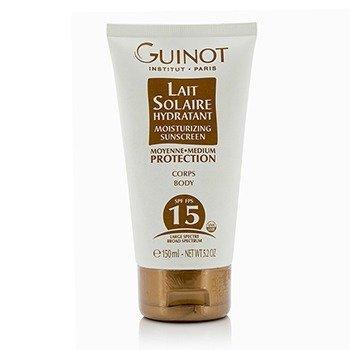 Guinot Lait Solaire Hydratant Protector Solar Hidratante Para Cuerpo SPF15  150ml/5.2oz