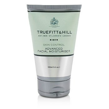 Truefitt & Hill Skin Control Invigorating Bath & Shower Scrub (Travel Tube) 100ml/3.4oz Mio Double Buff Dual Action Enzyme Exfoliator, Travel Size, 1.7 Oz