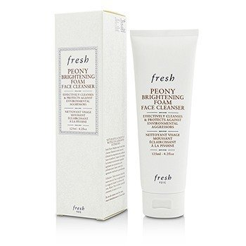 Peony Brightening Foam Face Cleanser  125ml/4.2oz