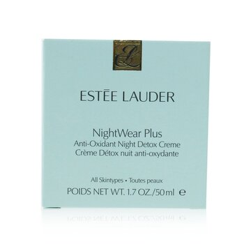 NightWear Plus Anti-Oxidant Night Detox Creme  50ml/1.7oz