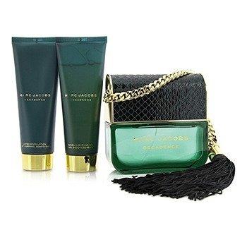 Decadence Coffret: Eau De Parfum Spray 100ml/3.4oz + Body Lotion 75ml/2.5oz + Shower Gel 75ml/2.5oz  3pcs