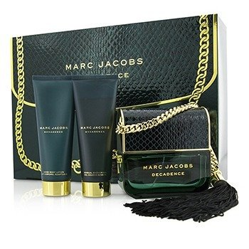 Marc Jacobs Decadence Coffret: Eau De Parfum Spray 100ml/3.4oz + Loción Corporal 75ml/2.5oz + Gel de Ducha 75ml/2.5oz  3pcs