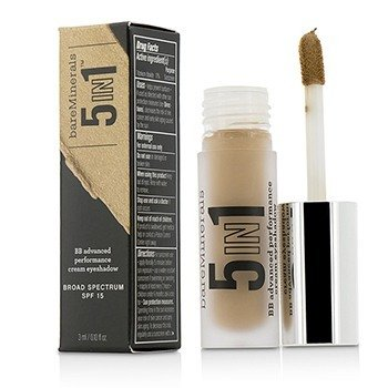BareMinerals BareMinerals 5 In 1 BB Advanced Performance Cream Eyeshadow Primer SPF 15 - Rich Camel  3ml/0.1oz