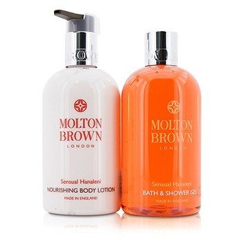 Sensual Hanaleni Bath & Body Set: Bath & Shower Gel 300ml/10oz + Nourishing Body Lotion 300ml/10oz  2pcs