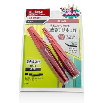 Fiberwig Ultra Long Mascara And Tiny Sniper Mascara Set  2pcs