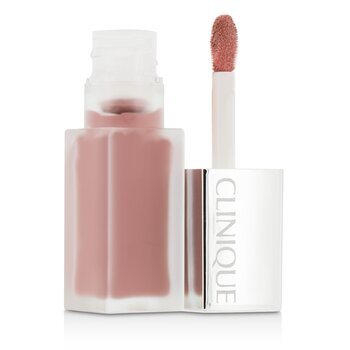 Clinique Pop Liquid Color de Labios Mate + Primer - # 01 Cake Pop  6ml/0.2oz