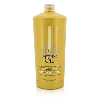 L'Oreal Mythic Oil Shampoo with Osmanthus & Ginger Oil (For Normal to Fine Hair)  1000ml/33.8oz
