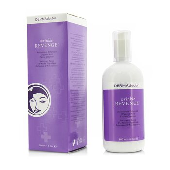 Wrinkle Revenge Antioxidant Enhanced Glycolic Acid Facial Cleanser  180ml/6oz