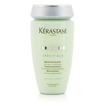 Specifique Bain Divalent Balancing Shampoo (Oily Roots, Sensitised Lengths)  250ml/8.5oz