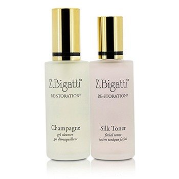 Z. Bigatti Re-Storation Duo: Gel Cleanser 59ml + Silk Toner 59ml  2pcs