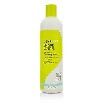 DevaCurl No-Poo Original Zero Lather Conditioning Cleanser (For Curly Hair)  355ml/12oz