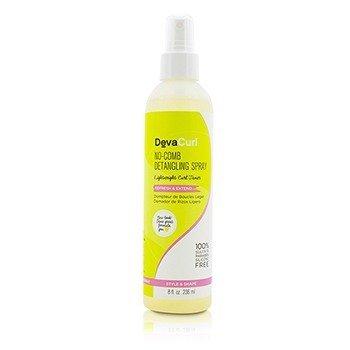 DevaCurl No-Comb Spray Desenredante (Domador de Rizos Ligero - Refresca & Extiende)  236ml/8oz