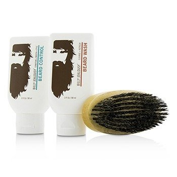 Beard Envy Kit: Beard Wash 88ml + Beard Control 88ml + brush 1pcs 3pcs
