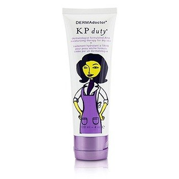 DERMAdoctor KP Duty Dermatologist Formulated AHA Moisturizing Therapy - For Dry Skin (Unboxed)  120ml/4oz