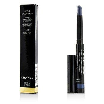 ชาแนล Stylo Fresh Effect Eyeshadow - # 207 Bleu Nuit  1.4g/0.05oz