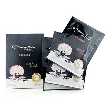 My Beauty Diary Mask - Black Pearl Brightening (Optimal Whitening)  8pcs