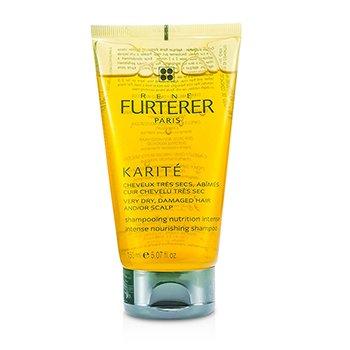 Rene Furterer Karite Intense Nourishing Shampoo - For Very Dry, Damaged Hair and/or Scalp (Unboxed)  150ml/5.07oz