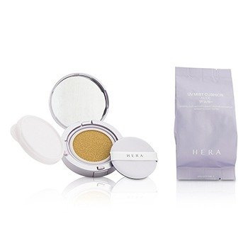 UV Mist Cushion Nude Mineral Clay Water & Smart Vector UV Complex SPF34 With Extra Refill  2x15g/0.5oz