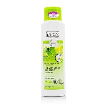 Organic Lemon Balm & Organic Mint Freshness & Balance Shampoo (For Oily Hair) 250ml/8.3oz