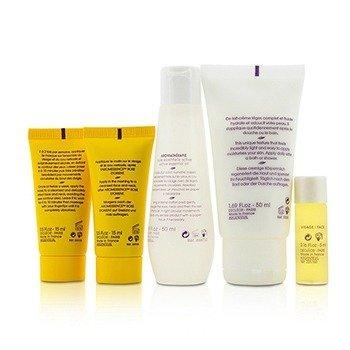 Soothing Starter Kit:Micellar Water 50ml+Serum 5ml+Harmonie Calm Milky Cream 15ml+Gel-Cream Mask 15ml+Body Milk 50ml+Bag 5pcs+1bag