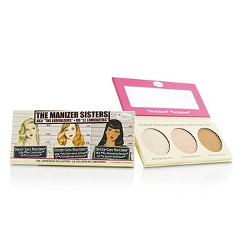 TheBalm The Manizer Sisters (Betty Lou Manizer, Cindy Lou Manizer, Mary Lou Manizer)  3x3g/0.11oz