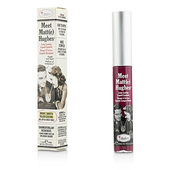 TheBalm Meet Matte Hughes Long Lasting Liquid Lipstick - Dedicated  7.4ml/0.25oz